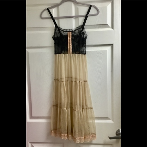 Pins & Needles Dresses & Skirts - Pins and needles see through lace dress size XS